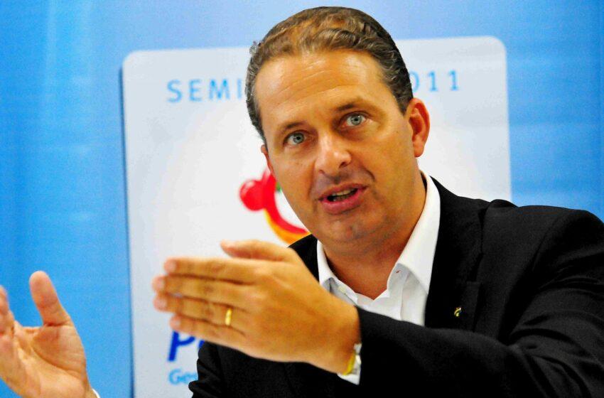 Eduardo Campos defende reforma da Previdência