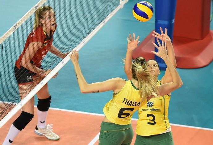 Brasil dá show, vence Bélgica por 3 a 0 e se aproxima do décimo título do GP