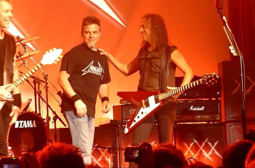 Doente e sem dinheiro, ex-baixista do Metallica vende itens raros da banda