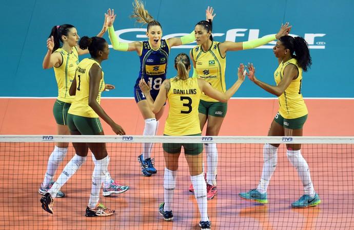 Com paciência oriental, Brasil vence Japão e conquista deca do Grand Prix