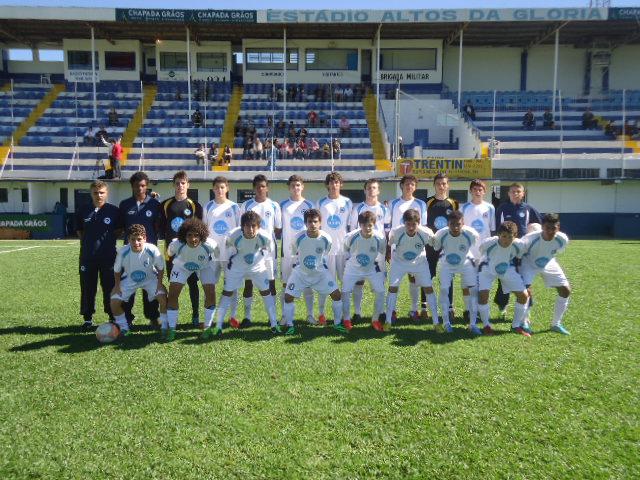 Grêmio vence ao Glória na Sub 17