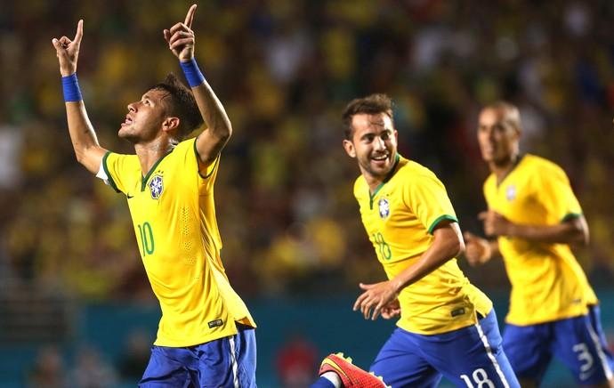 Neymar dá banho de gelo em Zúñiga, e Brasil vence Colômbia em amistoso