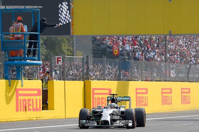 Nico vacila, Hamilton vence na Itália, e Massa alcança primeiro pódio do ano