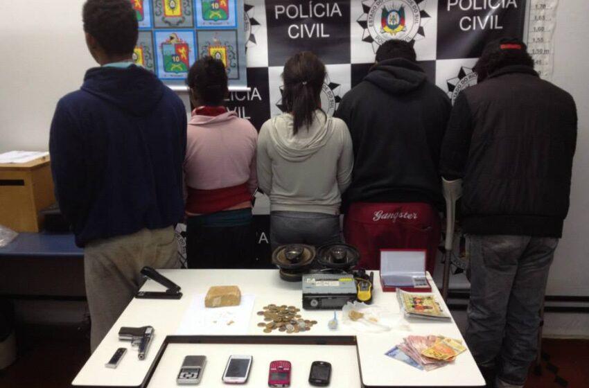 Operação Farroupilha desmantela quadrilha de tráfico de drogas em Vacaria