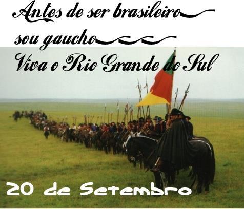 Semana Farroupilha 2014 – Desfile Temático e de Cavalarianos e Tertúlia dos Guardiões da Tradição acontece neste sábado