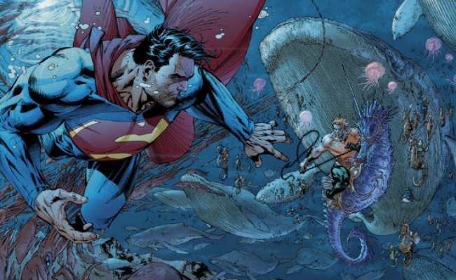 Aquaman salvou o Superman em 'O Homem de Aço'