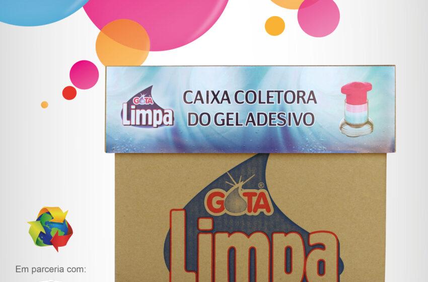Ação entre Imec e Gota Limpa busca reaproveitar embalagens de produtos