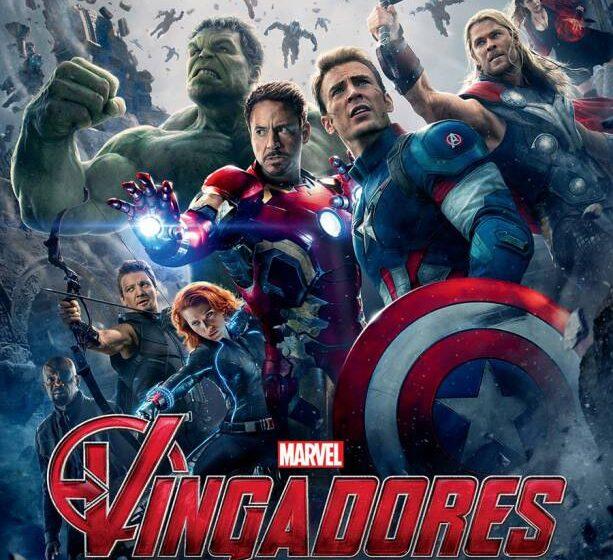 Heróis reunidos no pôster nacional de Os Vingadores 2: A Era de Ultron