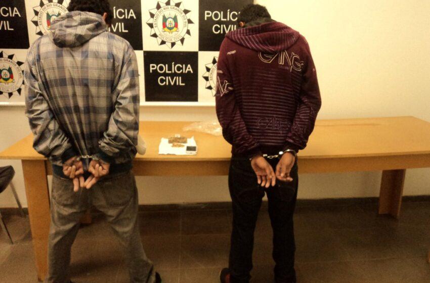 Polícia Civil de Vacaria efetua mais duas prisões