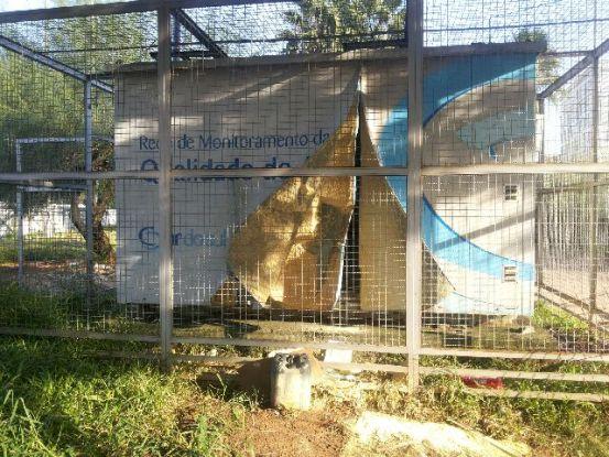 Equipamentos radioativos são furtados de estação da Fepam