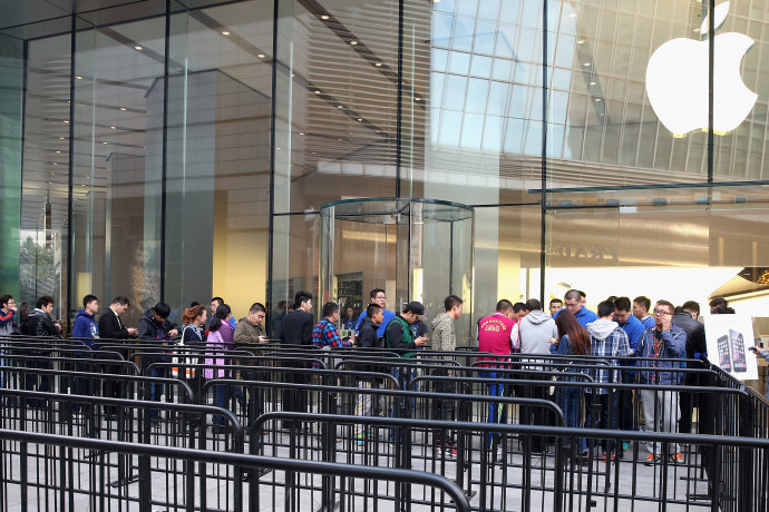Apple retoma liderança na venda de smartphones