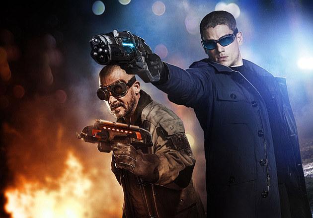 Capitão Frio e Onda Térmica em nova imagem da primeira temporada de The Flash
