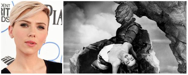 Scarlett Johansson pode estrelar remake do clássico de horror O Monstro da Lagoa Negra