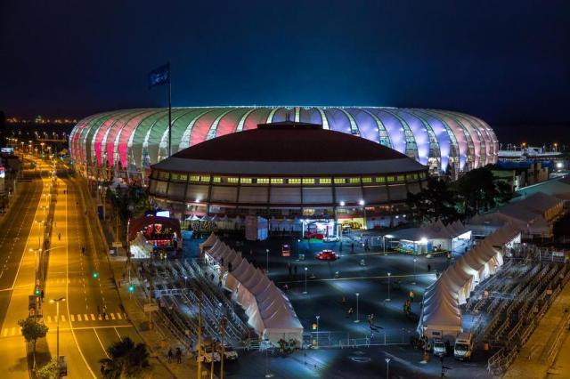 CBF faz vistoria no Beira-Rio e partida entre Brasil e Honduras está confirmada