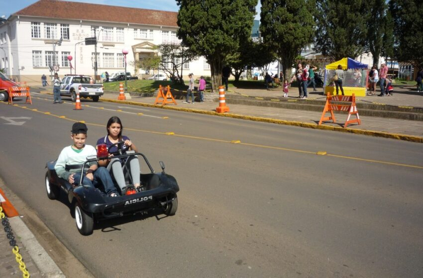 Em maio tem Semana Municipal de Trânsito