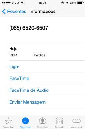 """Anatel afirma que chamada do número """"065 65"""" não clona linhas telefônicas"""