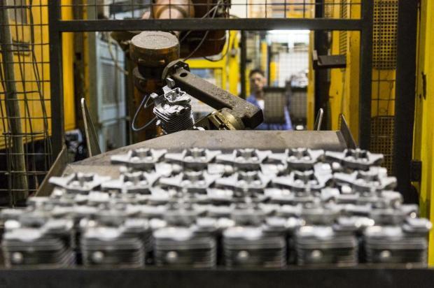Indústria gaúcha cresce em março em relação a fevereiro