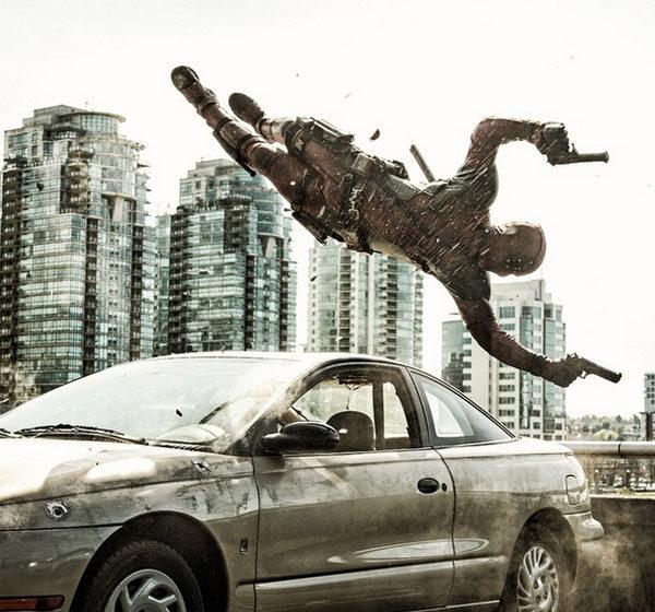 Primeira imagem oficial de 'Deadpool'