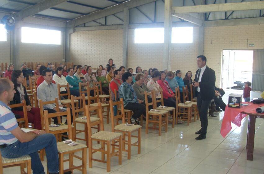 Polícia Civil participa de palestra sobre drogas em Campestre da Serra
