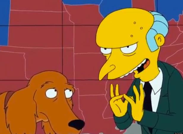 "Dublador de Sr. Burns deixa ""Os Simpsons"""