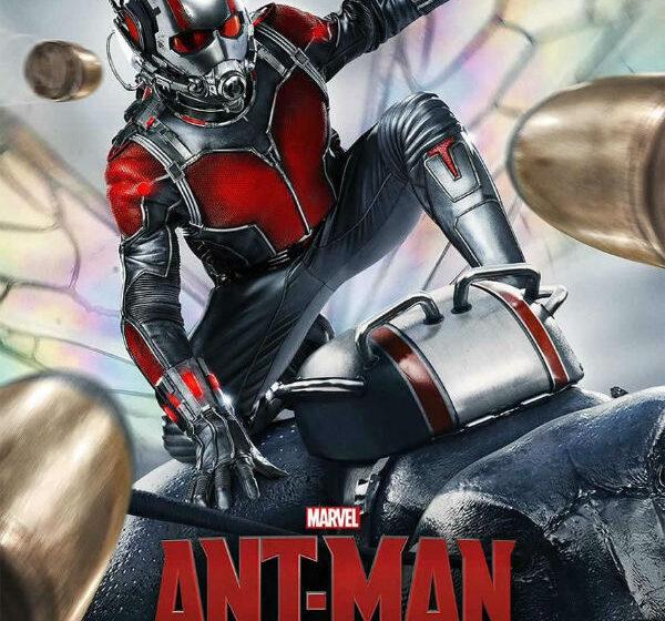 'Homem-Formiga' se esquiva de tiros no novo cartaz do filme