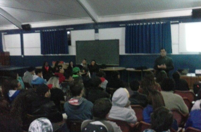 Ação Educativa na Escola Padre Pacífico dentro da Semana Municipal do Trânsito