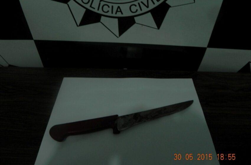 Adolescente mata homem a facadas em Jaquirana