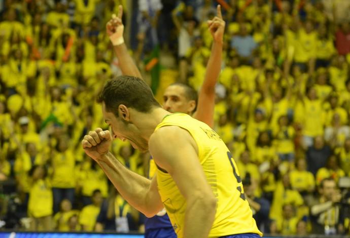 Brasil domina a Austrália e garante a quarta vitória seguida na Liga Mundial