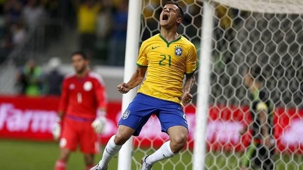 Coutinho, enfim, se 'apresenta', Brasil vence México e cala vaias no Allianz Parque