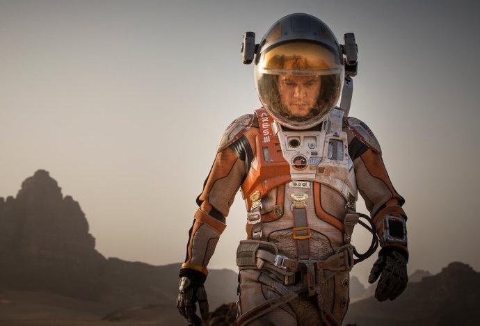 Matt Damon é abandonado em Marte em filme de Ridley Scott