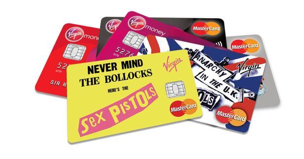Sex Pistols vai estampar linha de cartão de crédito