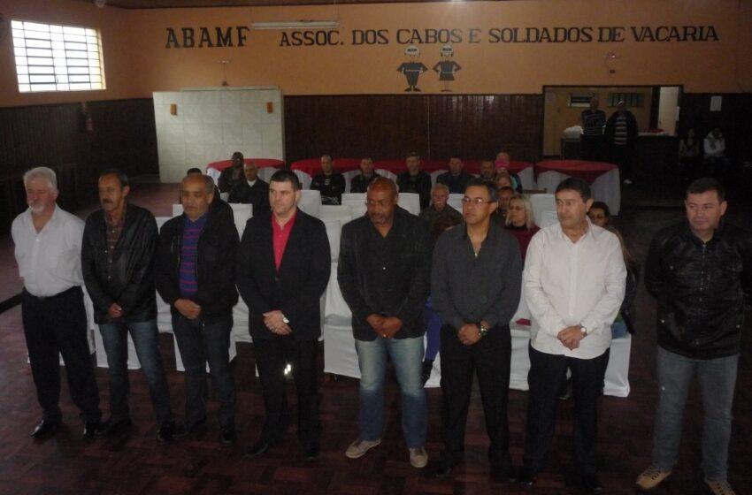 Nova diretoria da ABAMF Regional Vacaria toma posse