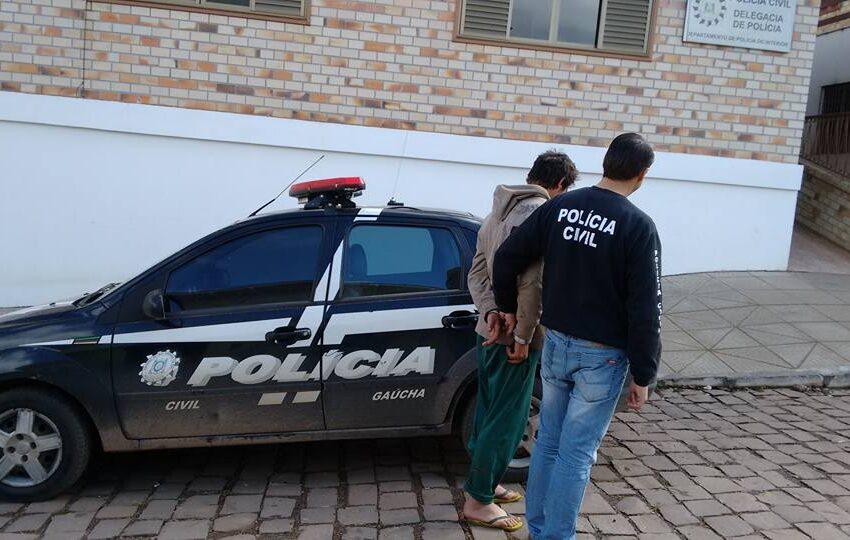Preso suspeito de vários furtos em Jaquirana