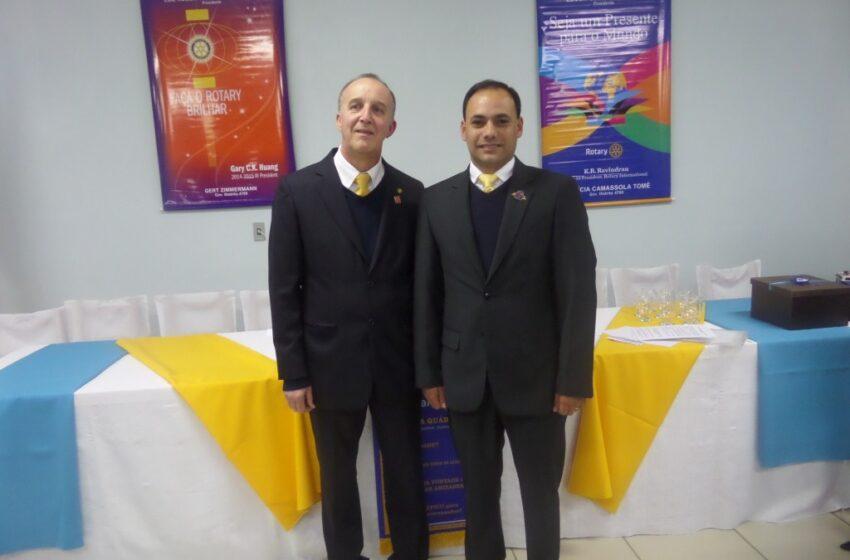 Rotary de Vacaria tem novo presidente