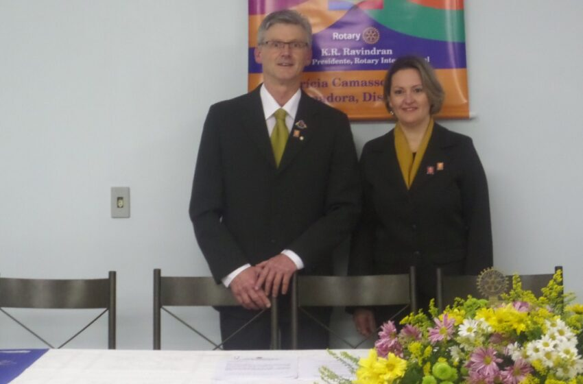 Rotary Vacaria dos Pinhais tem novo presidente