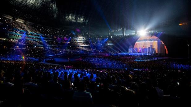 Com show de luzes e música, Pan de Toronto termina em festa