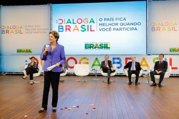 Governo lança plataforma Dialoga Brasil de participação popular