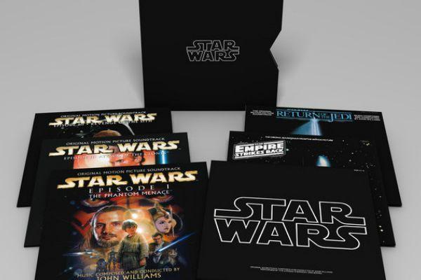 Trilha Sonora completa de Star Wars será lançada em vinil