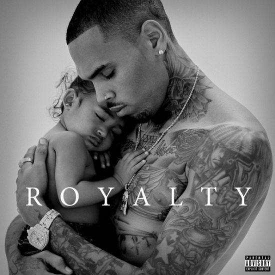"Chris Brown divulga capa do álbum ""Royalty"""