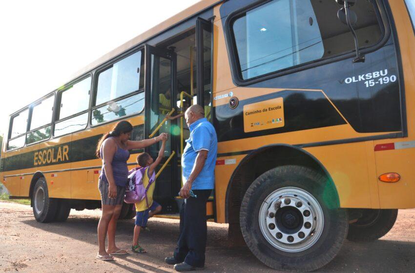 Atraso de repasses do Estado para os municípios ameaça o transporte escolar