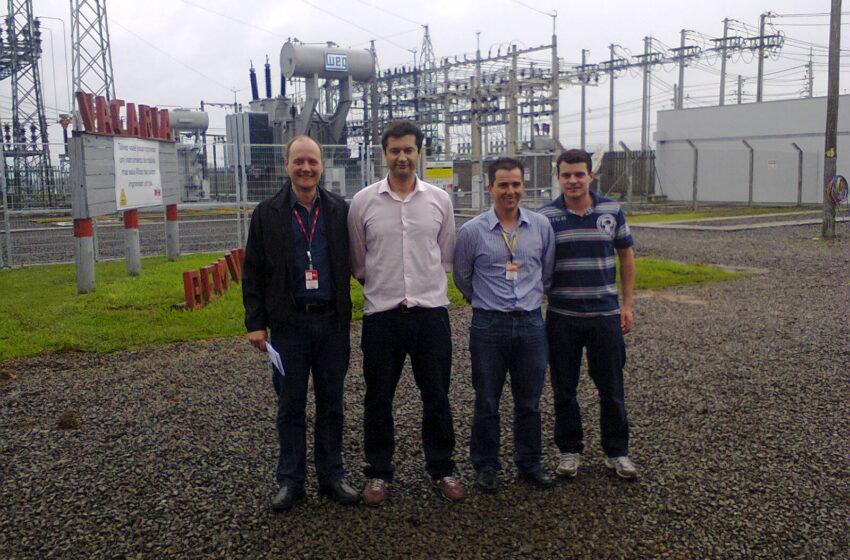 RGE comemora implantação de nova linha de transmissão de energia
