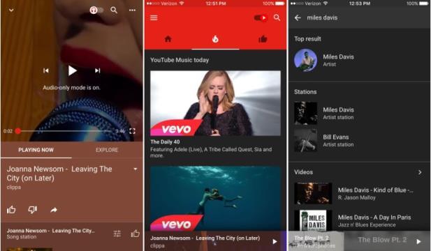YouTube lança serviço gratuito de música por streaming