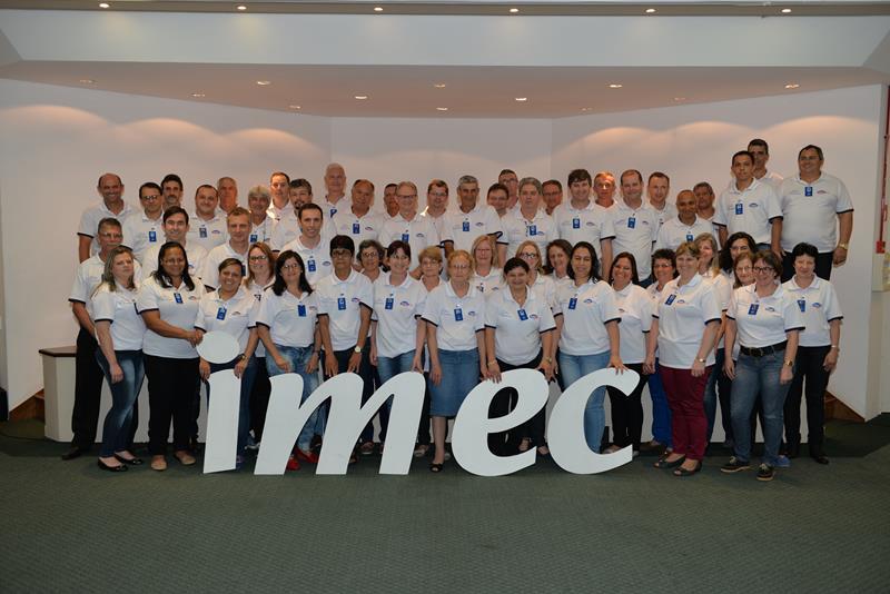 Rede Imec homenageia os 60 colaboradores com mais tempo de empresa