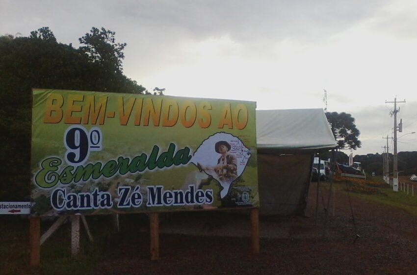 Prossegue em Esmeralda neste domingo, as festividades de 52 anos do município e do Esmeralda Canta Zé Mendes