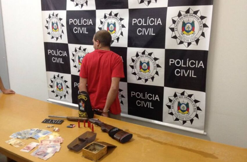 Traficante é preso no Bairro Municipal na manhã de hoje