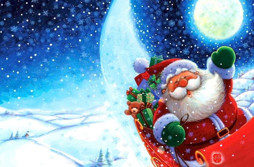Hoje tem a Chegada do Papai Noel em Vacaria