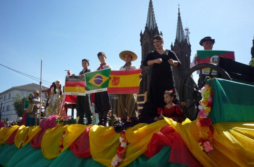 Desfile do 31º Rodeio Crioulo Internacional de Vacaria