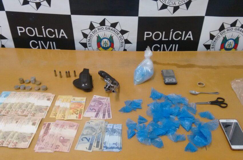 Polícia Civil prende traficante no Bairro Imperial