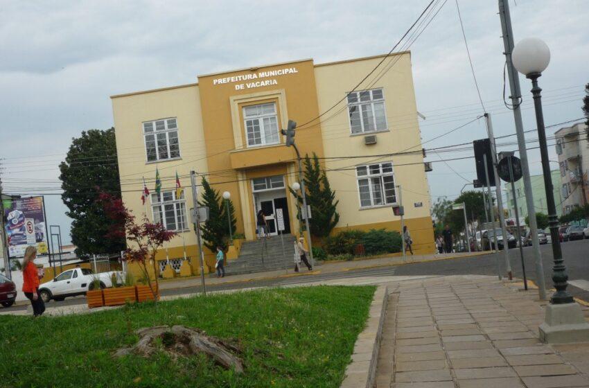 Inscrições para o concurso público da Prefeitura de Vacaria se encerram no dia 19