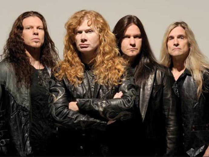 Megadeth chega ao topo da parada nos EUA e anuncia show no Brasil